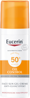 Eucerin Sun Gel-Creme Oil Control, Anti-Glanz 50+