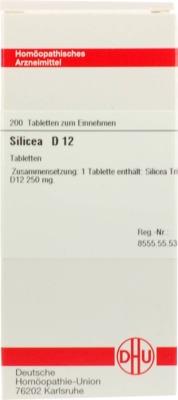 SILICEA D 12 Tabletten