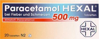 Paracetamol HEXAL 500mg