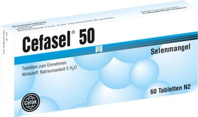 CEFASEL 50 µg Tabletten