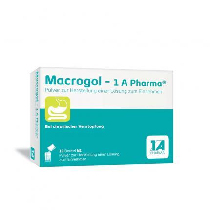 Macrogol-1a Pharma Pulver zur Herstellung einer Lösung zum Einnehmen