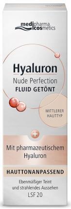 Hyaluron Nude Perfection FLUID GETÖNT LSF 20 Mittlerer Hauttyp