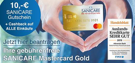 Zur SANICARE Mastercard